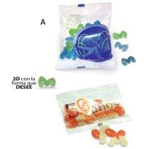 Bolsa de caramelos sabores frutales 2D