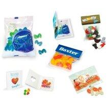 Bolsas perlas goma sabores frutales personalizada