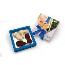 Caja de chocolate con formas