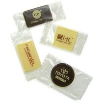 Chocolatina con envoltorio