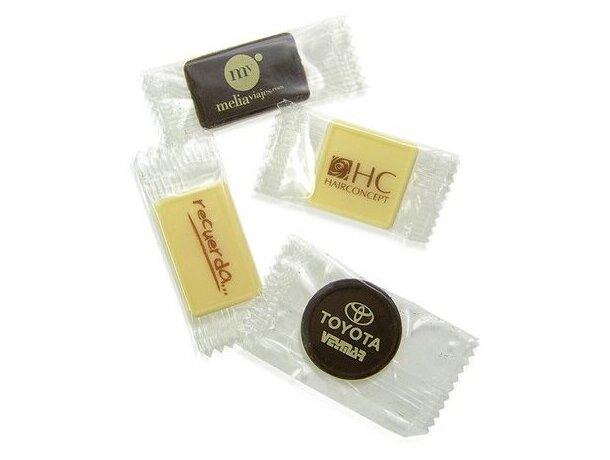 Chocolatina con envoltorio personalizada