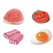 Caramelo frutal sin gluten en sobre estandar