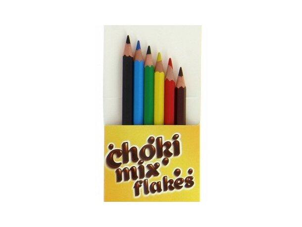 Caja de 6 Lápices de colores Bic barato