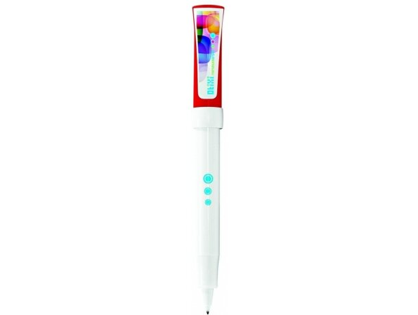 Roller con clip extra grande de la marca Bic personalizado blanco