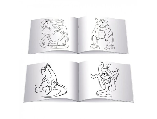 Colores con libro para colorear personalizado