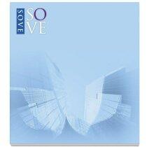Bloc de notas adhesivas Bic® 68x75 con 100 hojas personalizada