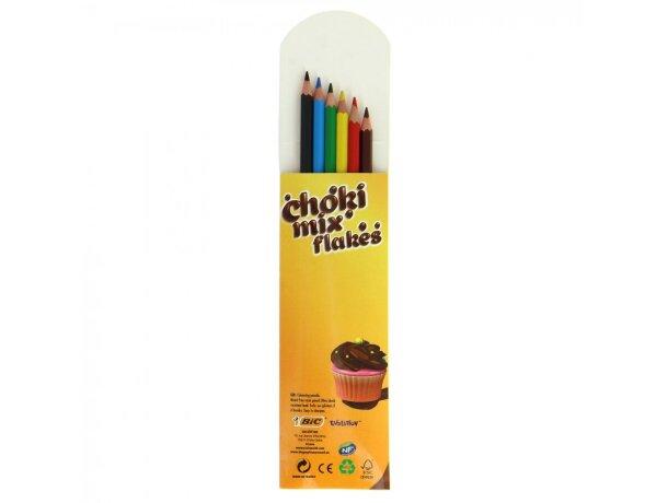Bic Caja de 6 Lápices de colores personalizado