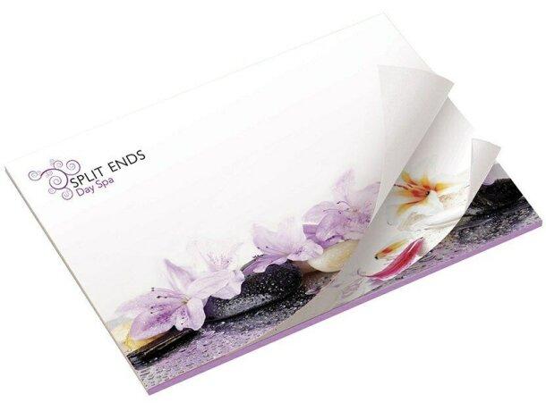 Bloc de notas adhesivas alternadas Bic® 101x75 con 25 hojas personalizado
