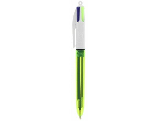 Bolígrafo fluorescente varias tintas Bic 4 Colours Fluo merchandising