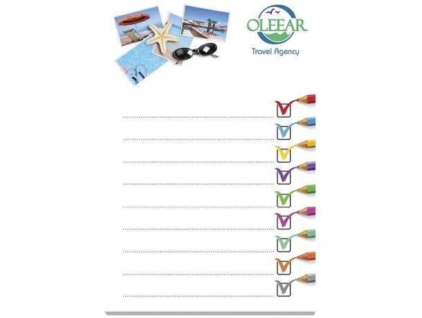 Bloc de notas adhesivas Bic® 101x152 con 25 hojas personalizado