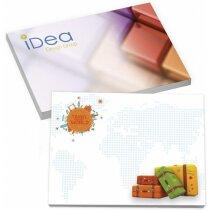 Bloc de notas adhesivas Bic® 101x75 con 25 hojas personalizada