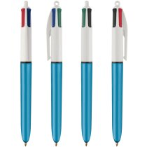Boli Bic 4 Colours Shine con Lanyard