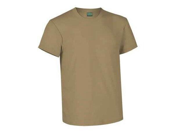 Camiseta unisex cuello redondo de Valento 190 gr Valento arena