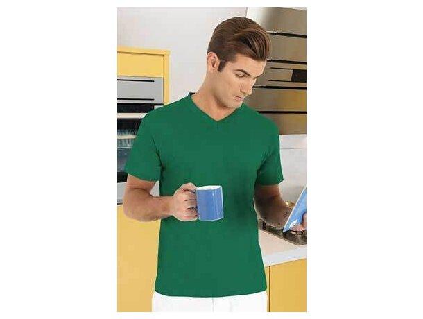 Camiseta manga corta cuello de pico Valento Valento