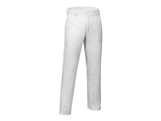 Pantalón de sarga para hombre Valento blanco
