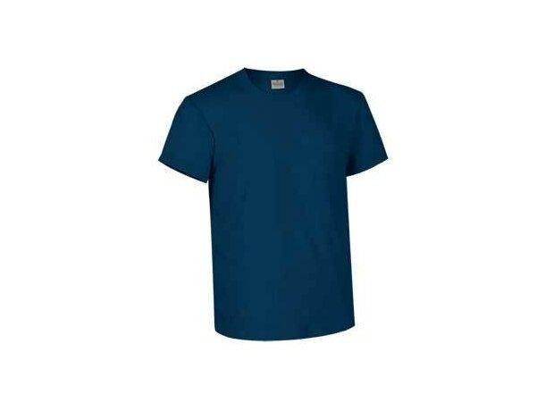Camiseta unisex tejido mixto 160 gr Valento original azul