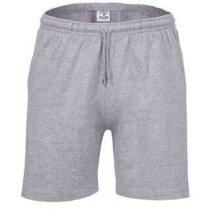 Pantalón corto de felpa Valento gris