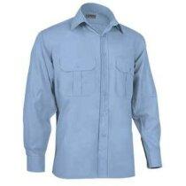 Camisa de hombre de vestir Valento azul claro