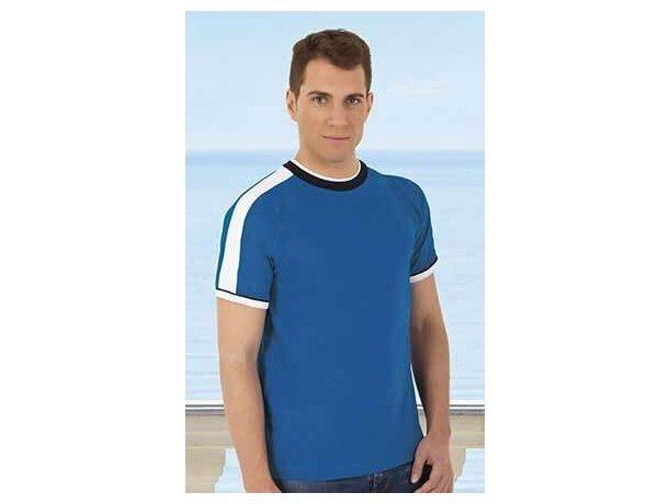 Camiseta manga corta combinada Valento 160 gr Valento barata