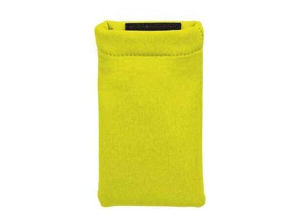 Funda de poliester en varios colores Valento amarillo alta visibilidad personalizada