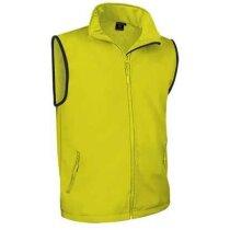 Chaleco de cuello alto multicapa Valento personalizado amarillo alta visibilidad