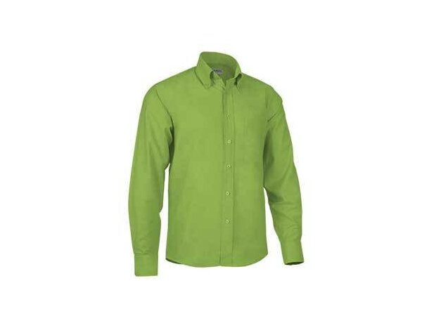 Camisa de hombre manga larga Valento verde