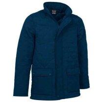 Chaquetón de abrigo unisex Valento personalizado azul