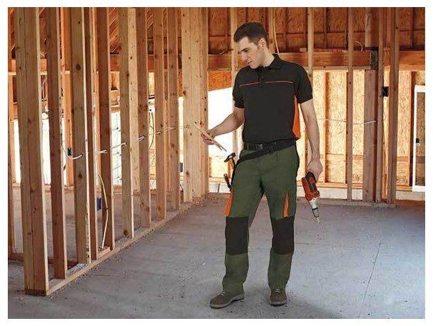 Pantalón resistente de hombre con bolsillos y rodilleras Valento