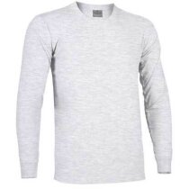 Camiseta manga larga con puño Arrow de Valento 160 gr Valento gris