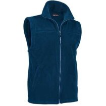 Chaleco polar con bolsillos Valento barato azul