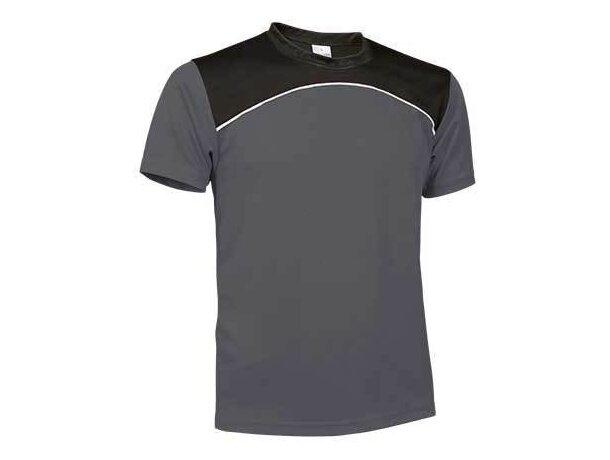 Camiseta técnica de manga corta 150 gr Valento gris