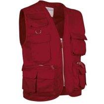 Chaleco con múltiples bolsillos en colores Valento