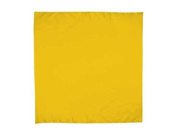 Pañuelo para fiestas Valento personalizada amarilla