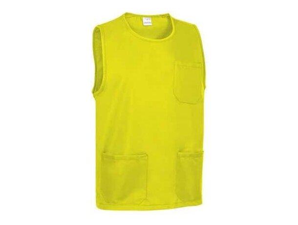 Peto de alta visibilidad para adultos Valento personalizado amarillo alta visibilidad