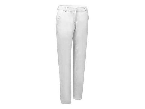Pantalón multiusos con bolsillos para mujer Valento blanco original