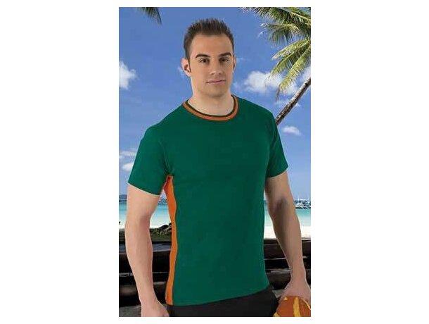 Camiseta manga corta combinada 160 gr Valento Valento para empresas