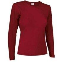 Camiseta manga larga mujer Valento roja