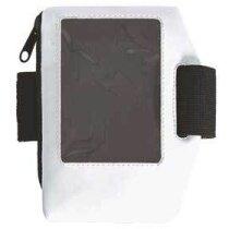 Funda de móvil deportiva para el brazo Valento blanca personalizada