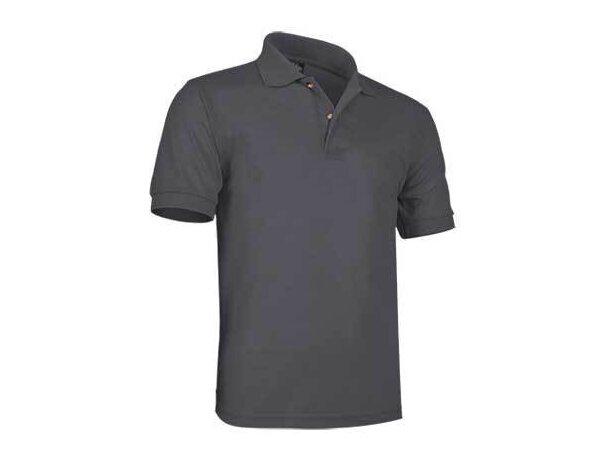 Polo manga corta algodón patrol de Valento 220 gr Valento personalizado gris