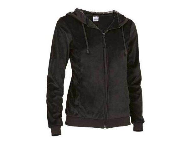 Sudadera mujer Valento merchandising negra