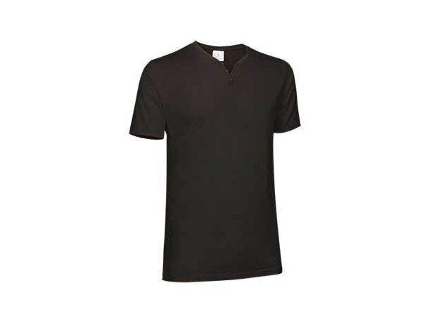 Camiseta Cuello Muy Abierto Lucky Valento negra