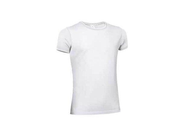 Camiseta manga corta Valento blanca