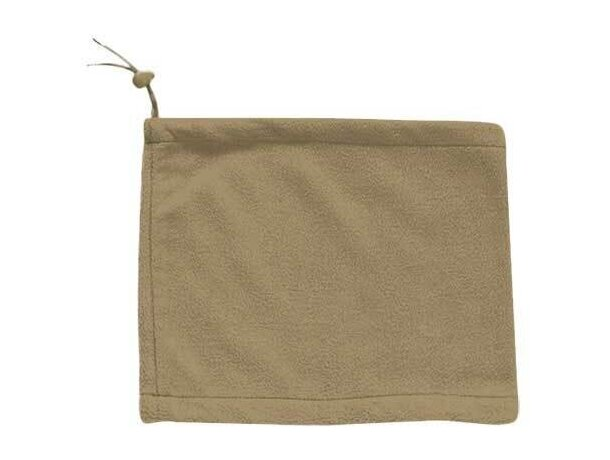 Braga con cierre de cordón Valento personalizada beige