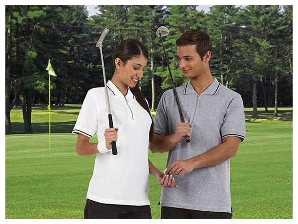 Polo de manga corta unisex de golf 220 gr Valento barato
