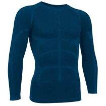 Camiseta segunda piel adulto manga larga Valento merchandising azul