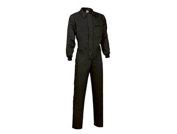 Buzo resistente unisex con bolsillos Valento negro