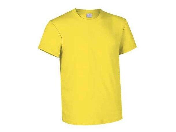 Camiseta básica manga corta cuello redondo Valento Valento amarilla