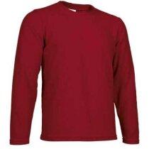 Forro polar de cuello redondo Valento personalizado rojo