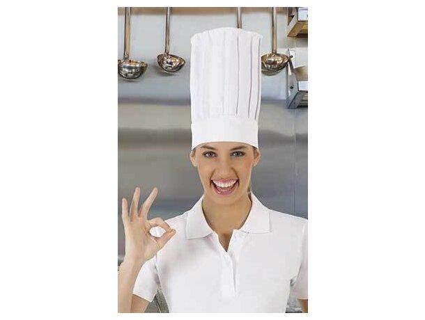 Gorro de chef para restaurante con rejilla Valento barato