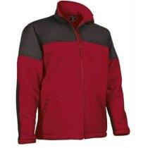 Chaqueta tejido técnico Valento personalizada roja